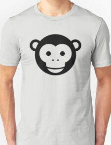Monkey - Simple Face Ver. 1.0 Unisex T-Shirt