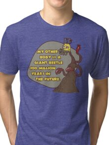 Great Race of Who? Tri-blend T-Shirt
