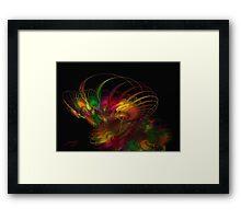 Fractal Fusion Framed Print