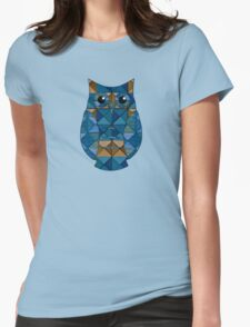 Surf & Sand Geometric Owl Womens Fitted T-Shirt