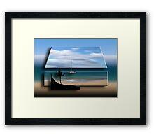 758 Framed Print