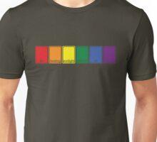 [blox] rainbow flag Unisex T-Shirt