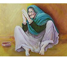 Beggar Photographic Print