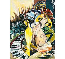 "Jazz No.2  - The Unforgettable ""French Quarter"" Photographic Print"