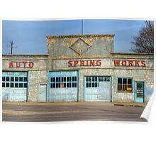 Edmonton Auto Spring Works 3 Poster