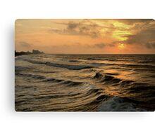 Off Shore Storm Canvas Print