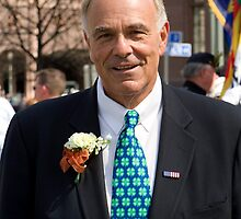 Governor Ed Rendell by Mark Van Scyoc