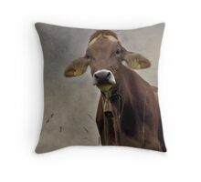 Do you like my Earrings? Throw Pillow