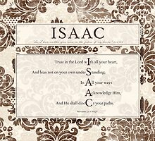 Isaac in the Word by Colleen Marquez