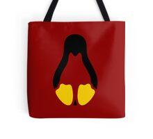 Linux tux penguin symbol Tote Bag