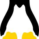 Linux tux penguin symbol by SofiaYoushi