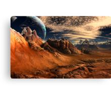 Glosstmass Barrens Canvas Print