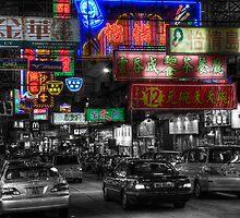 Hong Kong City Nights by Twisted