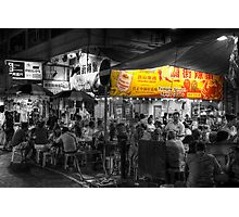 Temple Street Spicy Crabs Photographic Print
