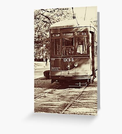 Streetcar named Desire  Greeting Card