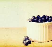 Blueberries by Sid Black