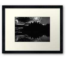 A New Moon Framed Print