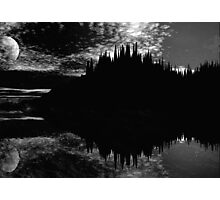 A New Moon Photographic Print