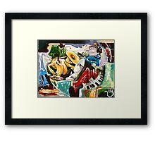 "Jazz no. 3 - The Unforgettable ""French Quarter""  Framed Print"