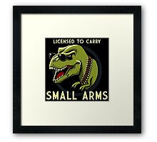 Small Arms Framed Print