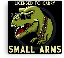 Small Arms Canvas Print