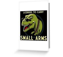 Small Arms Greeting Card