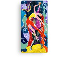On The Stage - Onegin, in my Eye Canvas Print