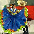Mexican Dancers - Elegance and Magic by Elisabeta Hermann