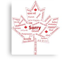 Essential Translation for Canadians Canvas Print