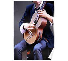 Classical Guitarist Poster
