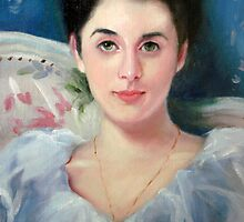 Lady Agnew after Sargent by Cathy Amendola