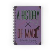 A History Of Magic Spiral Notebook