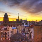 Barcelona Sunrise by Sid Black