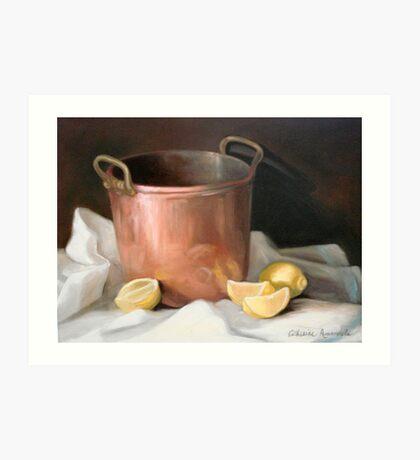 Helen's Copper Pot Art Print
