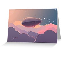 Airship Greeting Card