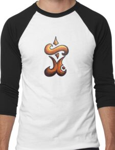 Eternal /  مؤبد (gold) Men's Baseball ¾ T-Shirt