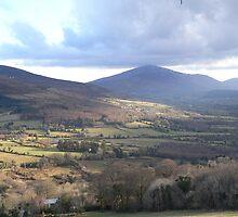 Blackstairs Mountains ,Carlow /Wexford. by Pat Duggan