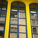Blue windows by Rada
