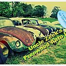 """""""Uncle Zeek's Preowned Auto Lot""""... prints and products by © Bob Hall"""