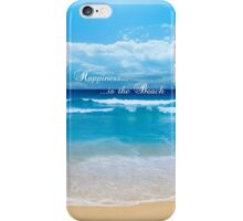 Happiness is...the Beach iPhone Case/Skin