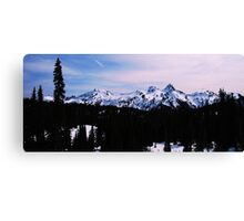 Tatoosh Mountain Range Canvas Print