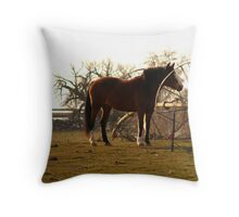 Tall and Majestic Throw Pillow