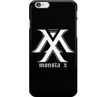 Monsta X Logo White iPhone Case/Skin