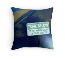 Trail Makers Throw Pillow