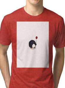 Balloon Penguin Tri-blend T-Shirt
