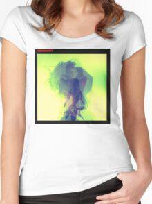 Warpaint album cover  Women's Fitted Scoop T-Shirt