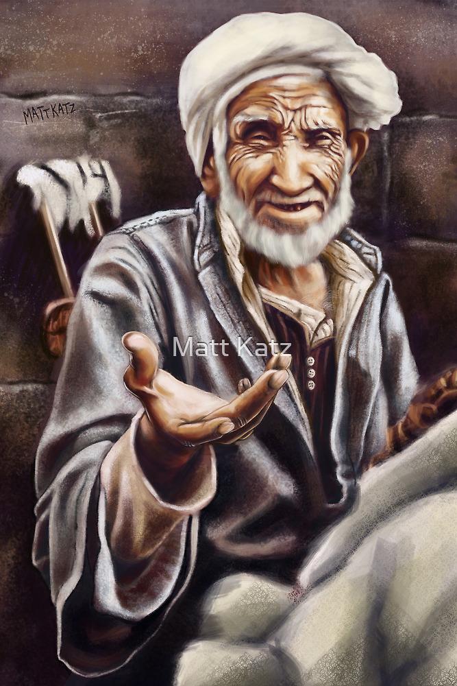 Egyptian Seller by Matt Katz