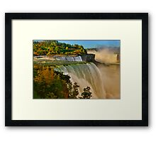 Sunrise Over Niagara - Niagara Falls Framed Print