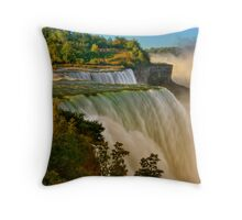 Sunrise Over Niagara - Niagara Falls Throw Pillow
