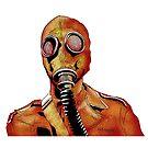 Gasmasks right by Matt Katz